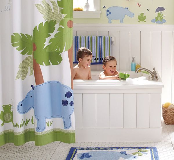 Unique Themes for Kids' Bathrooms - Budget Blonde