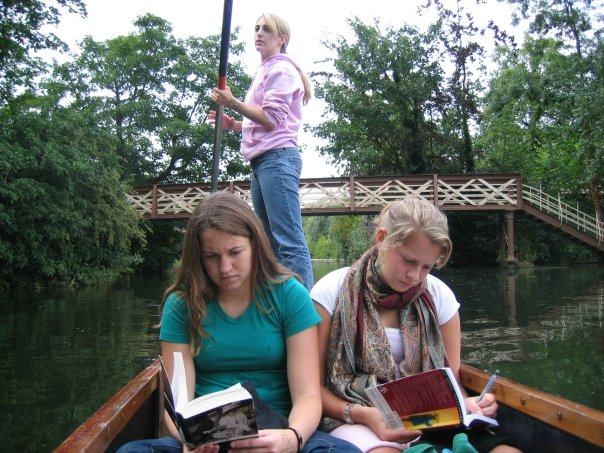 Punting Down The River Cam