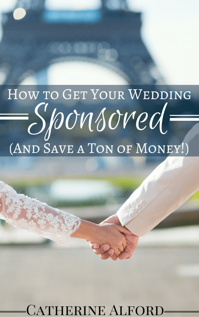 how to get your wedding sponsored