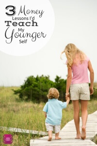 Is there a money tip you wish you could tell your younger self? I sure do - here are the money lessons I wish I could tell my younger self!