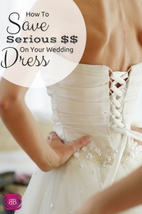 How to Save Money on Your Wedding Dress: Don't fall into the trap of spending thousands on your wedding gown. Instead, reimagine a family heirloom!