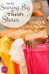 """Thrift shopping can be a great way to save money and expand your wardrobe. Plus, it's in vogue to say you got something at a thrift shop thanks to Maklemore's """"Thrift Shop"""" song. No more being ashamed of shopping for someone else's clothes! https://www.catherinealford.com/2014/07/09/scoring-big-at-thrift-stores/"""