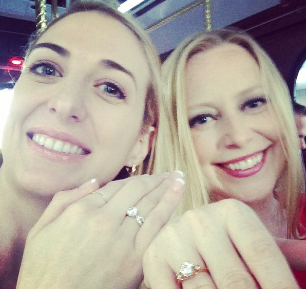 Shannon & Me at a Jewelry Insurance Event. (They gave us fancy rings. ;))