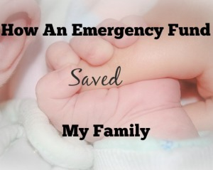 how an emergency fund saved my family