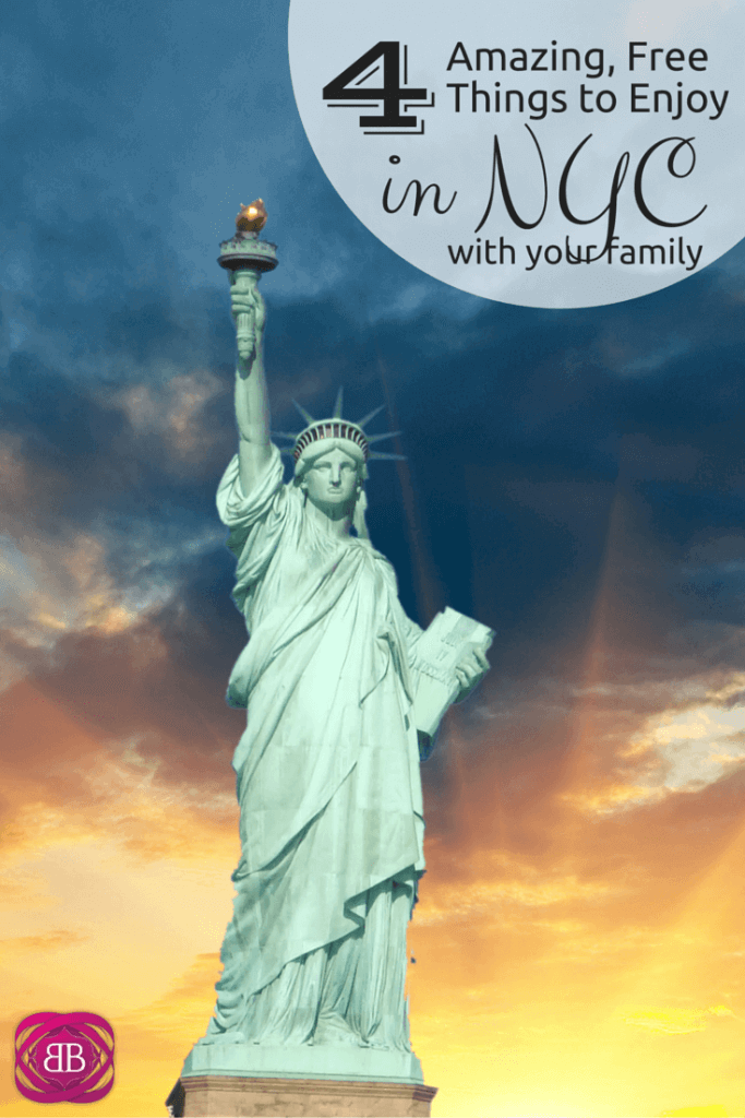 Did you know there are lots of free things to do in NYC with your family?