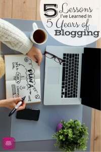 At this point, I consider myself a seasoned #blogger. Maybe that's a bit of a stretch, but my blogging income support our family, and I've been doing it for 5 years, so I've learned some incredibly valuable lessons!