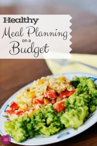 Trying to be frugal and also healthy when it comes to your family's meals can seem difficult. After all, some of the cheapest foods at the grocery store are the junk food right? Check out these healthy meal planning tips and meal planning on a budget!