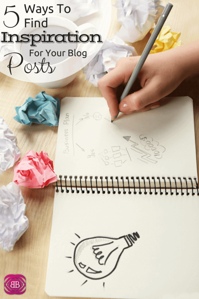 5 Ways to Find Inspiration For Your Blog Posts