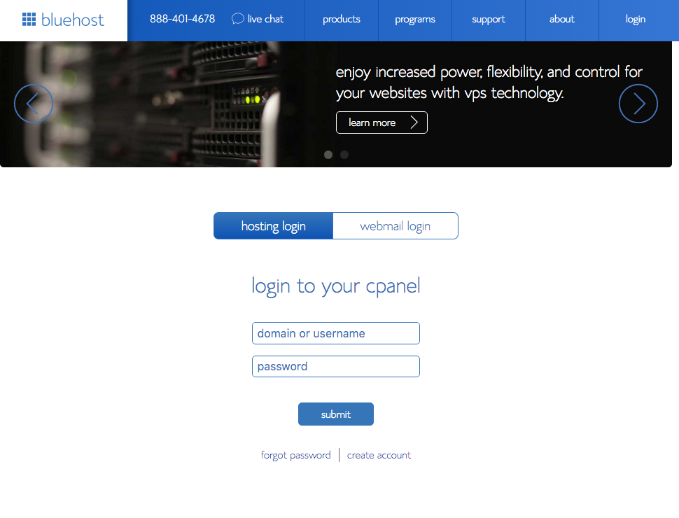 9-bluehostcpanel-login