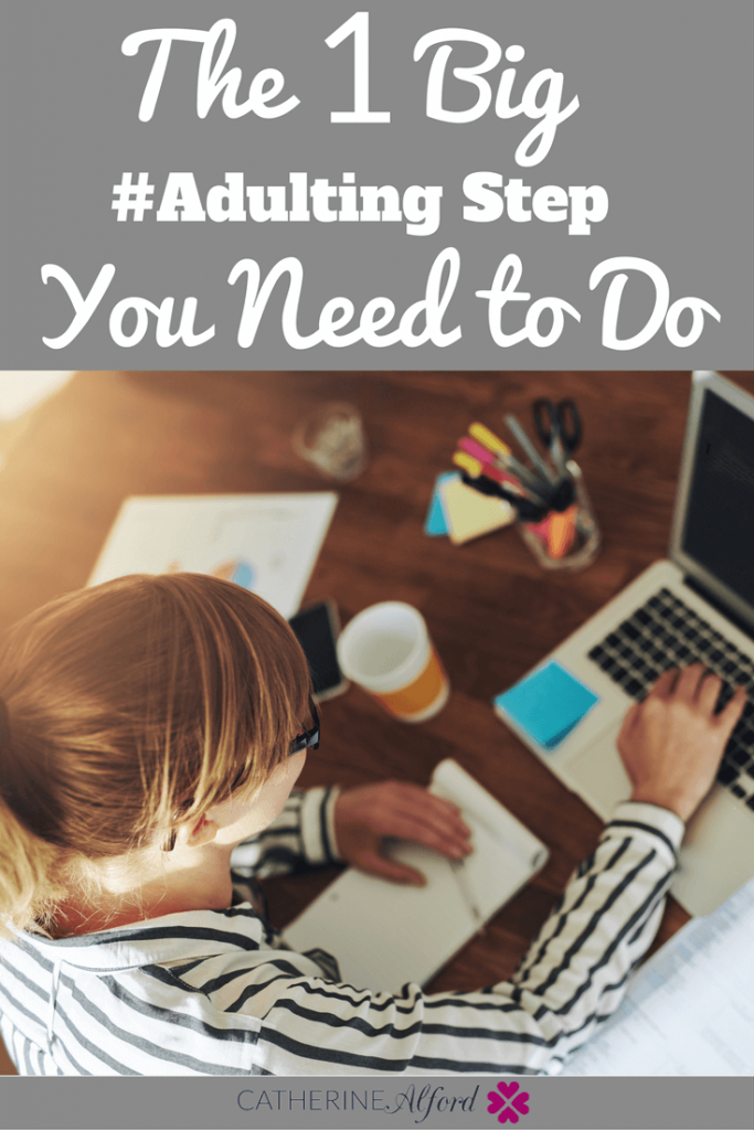 adulting step