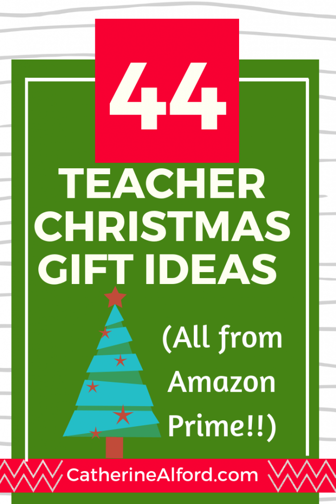 44 Teacher Christmas Gift Ideas (All From Amazon Prime!)